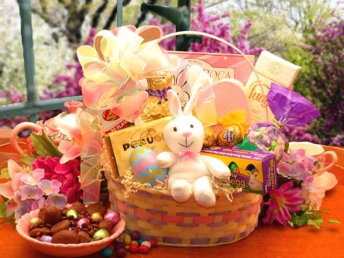 Fanciful Easter Gift Basket