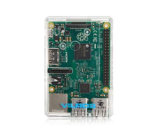 Raspberry Pi 2 Clear Transparent Case