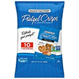 Snack Factory Pretzel Crisps, Original, Single-Serve Multipack 10 Count