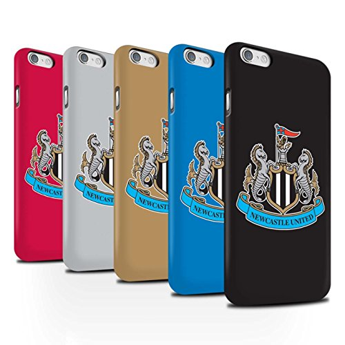 Offiziell Newcastle United FC Hülle / Matte Snap-On Case für Apple iPhone 6S / Pack 12pcs Muster / NUFC Fußball Crest Kollektion