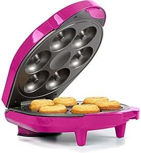 Holstein Housewares HF-09004M Fun Mini Doughnut Maker - Magenta