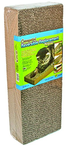 Ware ManufaCounturing CWM12002 2-Pack Corrugated Replacement Scratcher Pads Regular