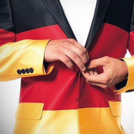 Das Germany Jacket: Schwarz-Rot-Gold für die Fußball WM 2014
