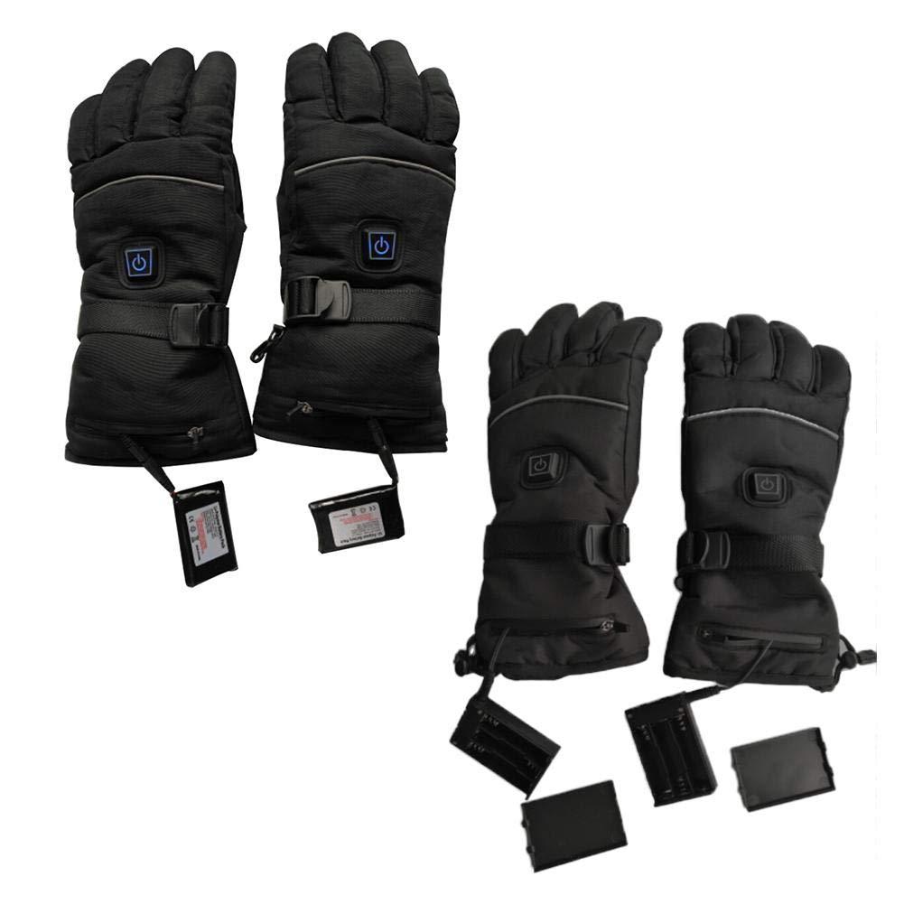 la mejor opci/ón de regalo de invierno guantes y medio calentados sin dedos para ordenador port/átil Guantes calefactables con USB Rehomy