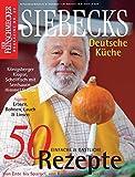 DER FEINSCHMECKER Bookazine Nr. 22: Siebecks deutsche Küche. 60 einfache & gastliche Rezepte