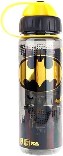 Batman - Botella de agua de boca ancha y estrecha, sin BPA ...