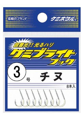 ルミカ(日本化学発光)ケミブライトフックチヌ3号A25103釣り針の画像
