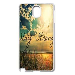 Stay Strong Classic Personalized Phone Case for Samsung Galaxy Note 3 N9000,custom cover case ygtg608005