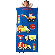 Trucks Kids Personalized Sleeping Bag by Lillian Vernon