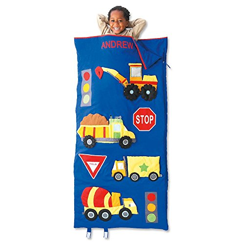 Lillian Vernon Trucks Kids Personalized Sleeping Bag]()