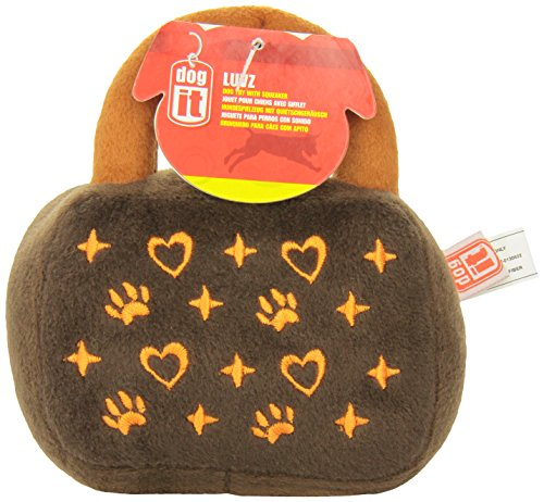 Dogit Luvz Toys Brown Hearts product image