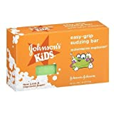 Johnson's Kids Easy-Grip Sudzing Bar Watermelon Explosion 2.45 oz (70 g)(pack of 3) by Johnson