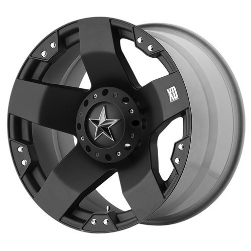 "XD-Series 775 Rockstar Wheel with Matte Black Finish (20x12"")"