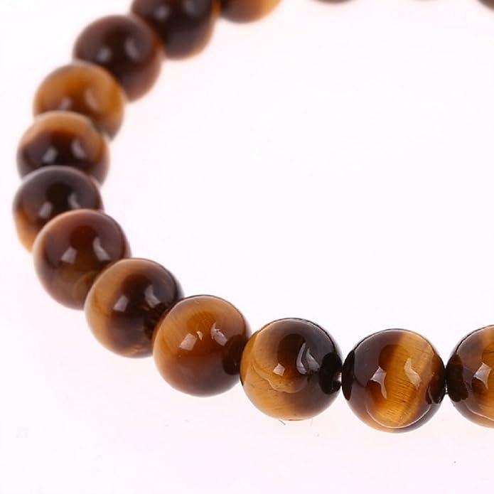 Bracelet Perles en Oeil de tigre - Symbolisme Protection Equilibre - Boite  Ecrin offerte  Amazon.fr  Bijoux 3e972a70021b