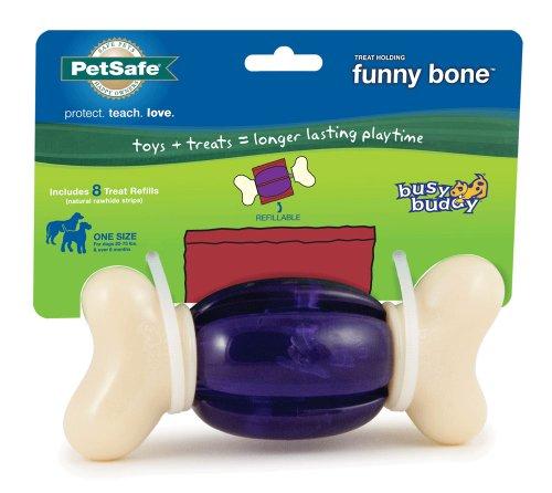 PetSafe Busy Buddy Funny Bone Dog Toy, My Pet Supplies