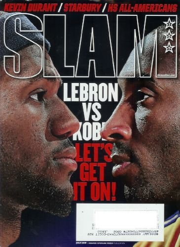 Slam Magazine - July 2009: LeBron James vs. Kobe Bryant, Kevin Durant, and More!