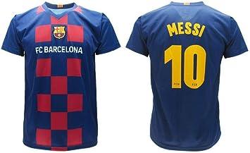 Oferta amazon: Messi - Camiseta oficial del equipo Barcelona 2020 2020 en blíster de la partida de Barcelona 10 niño niño adulto Talla 12 años