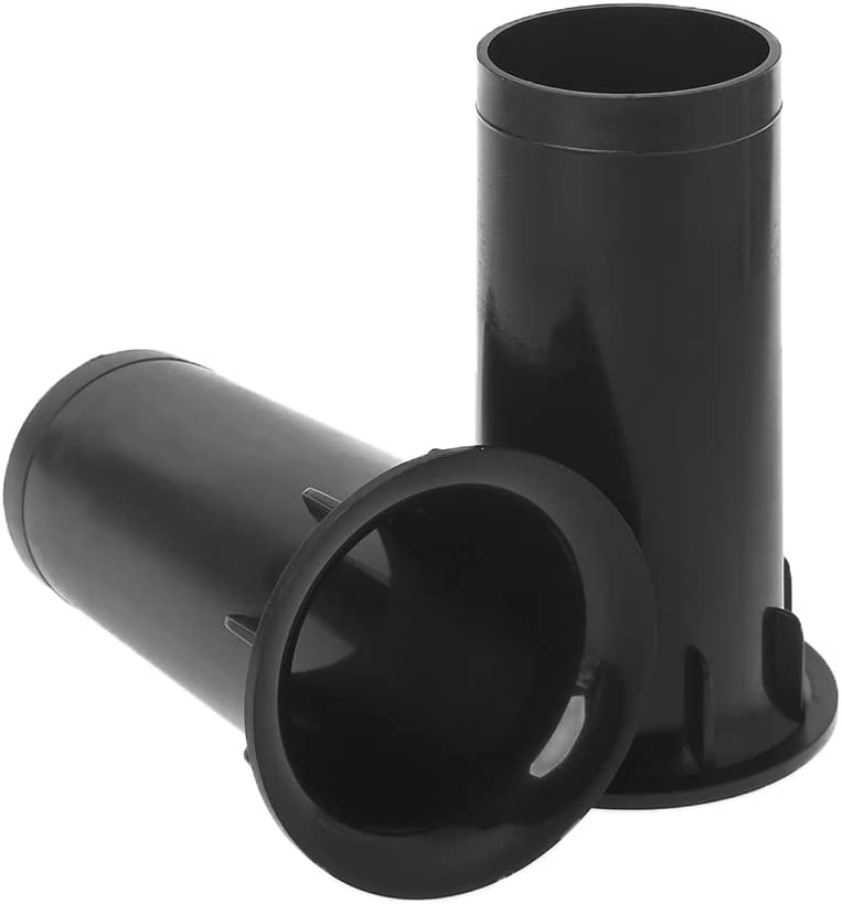 Jerkky 1 Paar Subwoofer Woofer Lautsprecher Anschlüsse Anschlüsse Tube Inverter Speaker Vent Küche Haushalt
