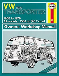 volkswagen 1600 transporter owner s workshop manual service rh amazon co uk
