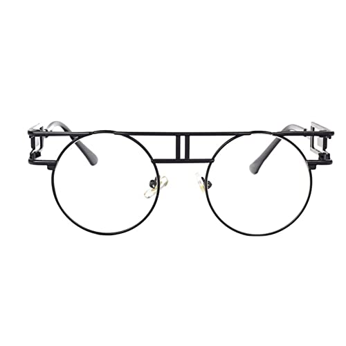Meijunter Nuevas gafas de sol del estilo del marco de Steampunk de las gafas de sol del estilo retro UV400