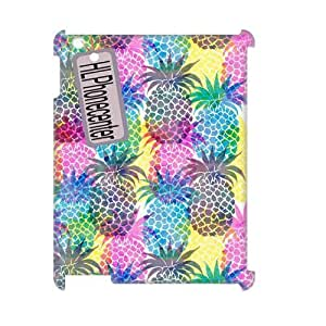DIY High Quality Case for Ipad 2,3,4 3D, Colorful Pineapple Phone Case - HL-2072666