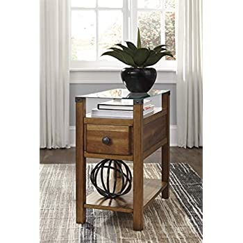 Amazon Com Ashley Marion Rectangular End Table T477 3