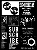 Slash: A Punk Magazine from Los Angeles: 1977-1980