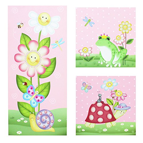 Garden Magic (Fantasy Fields - Magic Garden Thematic Kids Canvas Wall Art Set | Imagination Inspiring Details | Non-Toxic, Lead Free Water-based Paint)