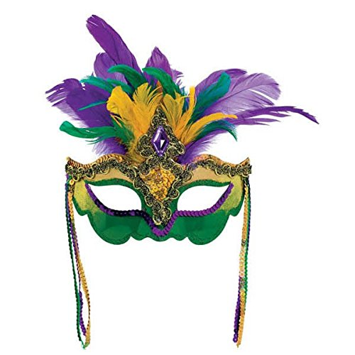 Venetian Feather Mardi Gras -