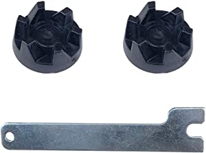 Black Blender Drive Coupling WP9704230 Fits for KitchenAid KSB5 KSB3 KSB5WH Blenders Compatible with 9704230 AP6013694 WP9704230VP PS11746921 (with Spanner)