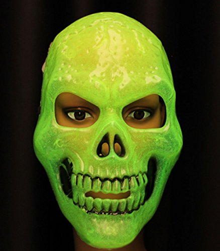 Halloween Luminous Terror Horrible Skull Mask by (Tower Of Terror Halloween Costume)