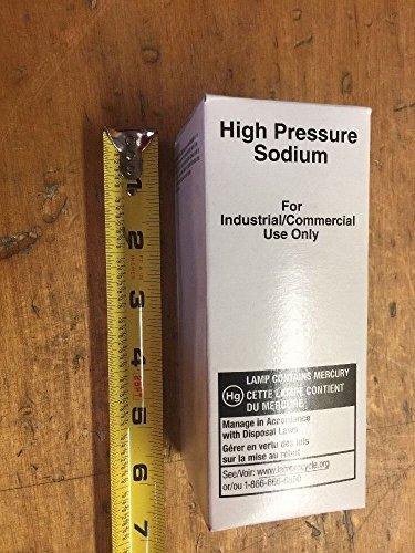 Hps Lamp Sodium High Pressure (High Pressure Sodium 100W Light Bulb HPS HSP100/MED (Lot of 10))