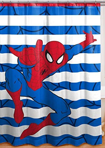 Franco Spiderman Shower Curtain