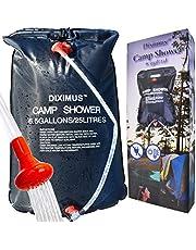 Ducha de camping Diximus – Ducha exterior – Bolsa de ducha solar 6.5 galones – 25 L – Ducha portátil para campamento, viajes, senderismo, verano