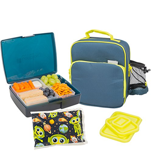 bentology lunch bag and box set includes insulated bag with import it all. Black Bedroom Furniture Sets. Home Design Ideas