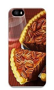 iPhone 5 5S Case Pecan Pie 3D Custom iPhone 5 5S Case Cover