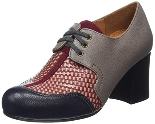 Chie Mihara Intuit, Zapatos Mujer Multicolor (Jansen Navy/Woven Tiras C)