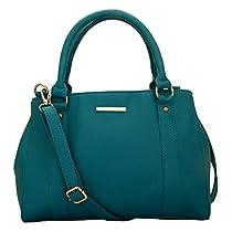 Lapis O Lupo Women's Handbag(Turquoise LLHB0013TQ)