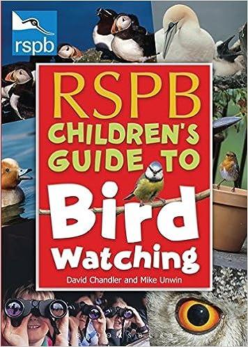 RSPB Childrens Guide To Birdwatching Rspb Amazoncouk David Chandler Mike Unwin 9780713687958 Books