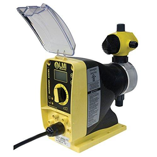 LMI AD911-918SI Solenoid Metering Pump, Digital Remote Control, 0.002 to 0.21 GPH, 250 PSI, 115 VAC