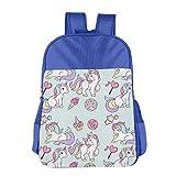 Kids Gift Pastries And Unicorn Printing Kids Backpack School Bag Backpack Book Bag