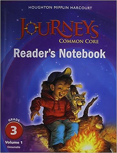 Amazon journeys common core readers notebook consumable amazon journeys common core readers notebook consumable volume 1 grade 3 9780547860657 houghton mifflin harcourt books fandeluxe Gallery