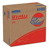 Wypall X70 Reusable Wipes (41455), Extended Use Wipers with HydroKnit, Pop-Up Box, 10 Boxes/Case, 100 Sheets/Box