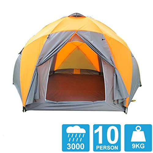 Tent 8-10 Persons High Quality Windproof Waterproof Outdoors 3000mm Hex Tent Durable Family C&ing Gear Party Tent  sc 1 st  Amazon.com & Windproof Tent: Amazon.com