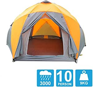 Amazon Com Tent 8 10 Persons High Quality Windproof