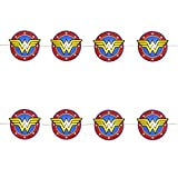 Kurt Adler DC Comics Wonder Woman Christmas Holiday LED Fairy Lights Boxed (Red)