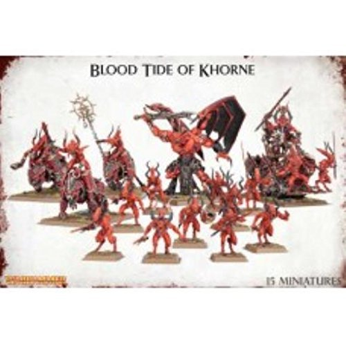 Warhammer 40,000 Blood Tide Of Khorne 15X Miniature Set by Games Workshop