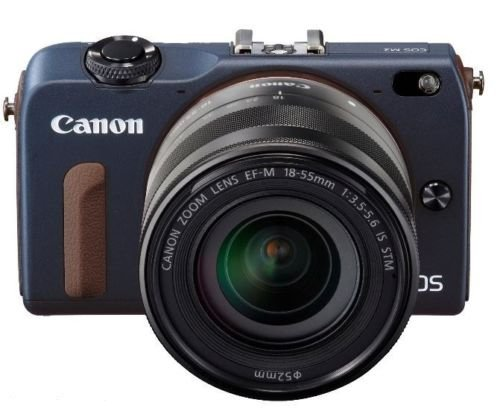 Canon EOS M2 Mark II 18.0 MP Digital Camera with 18-55MM F/3.5-5.6 IS EF-M STM Lens (Blue) – International Version (No Warranty) Review