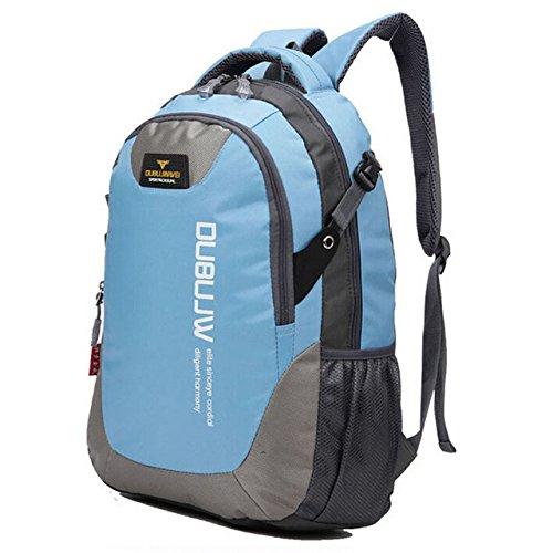 Generic Sky Blue   30L Nylon Sports Backpacks Teenage Girls Men s Laptop  School Bag Large Outdoor Bicycle Backpack Waterproof Rucksack Blue XA1261A   ... b1a000f6316c1