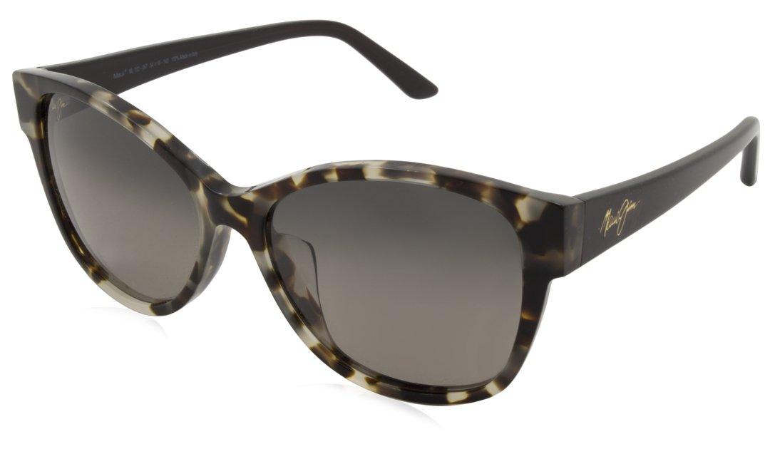 Maui Jim Summer Time Polarized Sunglasses - Women's White Tokyo Tortoise / Neutral Grey One Size